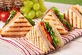 Картинка сыр, хлеб, бутерброды, ветчина, тосты