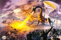 Картинка Dragon, poster, Lord, Steve-Read, TOLKIEN, MISK PAINTERS