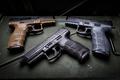 Картинка фон, пистолеты, Tactical, HK VP9