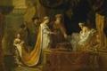 Картинка масло, картина, мифология, Антиох и Стратоника, Герард де Лересс