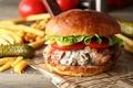 Картинка огурец, бутерброд, начинка, бургер