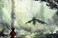 Картинка yuusha, daymio, Kubo and The Two Strings, boy, assassin, hunter, samurai, animated movie, cinema, film, ...