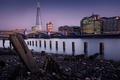 Картинка мост, река, Англия, Лондон, башня, дома, Темза, набережная