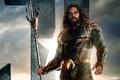 Картинка seifuku, film, armor, Arthur Curry, weapon, uniform, Jason Momoa, Aquaman, trident, movie, Justice League, king, ...