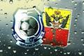 Картинка Спорт, Империя, Герб, Черный, Черноморец, Лого, Футбол, Фон, Клуб, Одесса, Синий, Стекло, Черно - синий, ...
