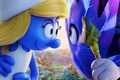 Картинка chibi, Smurfs 3 The Lost Village, animated film, spear, hat, blue, animated movie, Smurfs The ...