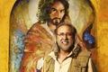 Картинка Расселл Брэнд, Миссия: Неадекватна, Russell Brand, Army of One, Nicolas Cage, комедия, Николас Кейдж, постер