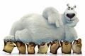 Картинка USA, animated film, boss, bear, Norm of the North, kuma, superstar, animated movie, New York