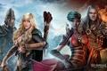 Картинка armor, arrow, mahou, helmet, bow, Stormfall: Age Of War, oppai, elf, game, warrior