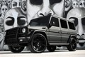 Картинка Mercedes, black, AMG, G55, with, matte, full, wrap