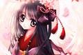 Картинка kimono, japanese, bishojo, girl, wings, tenshi, agel, anime