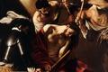 Картинка Караваджо, мифология, картина, Микеланджело Меризи да Караваджо, Коронование Терновым Венцом