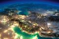 Картинка Спутниковый, снимок, Россия, Средняя азия, Иран