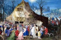 Картинка религия, Поклонение Королям, мифология, Ян Брейгель старший, картина
