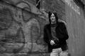 Картинка Norman Reedus, у стены, фотосессия, Eric Guillemain, стоит, пиджак, актер, Норман Ридус, Vogue, черно-белое