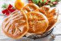 Картинка Рождество, Christmas, выпечка, сладкое, булочки, baking, buns