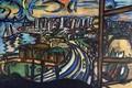 Картинка Макс Бекман, полумесяц, Экспрессионизм, Портовый город, вечер, Авангард, дорога, корабль