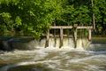 Картинка Франция, Вода, Природа, Поток, Деревья, Лето, Nature, Water, France, Summer, Trees