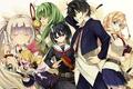 Картинка girl, sword, anime, katana, ken, blade, mask, seifuku, student, miko, Armed Girl's Machiavellism, Busou Shoujo ...