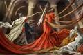 Картинка legions, death, skulls, drawing, skeletons, Romans, fantasy, swords, artwork, emperors, soldiers, weapons, fantasy art, fabric, ...