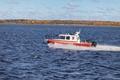 Картинка осень, катер, boat, RIB, Lider 10, Лидер 10