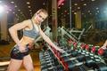 Картинка gym, female, girl, blonde, workout