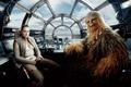 Картинка Movie, Chewbacca, Rey, Star Wars The Last Jedi