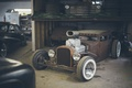 Картинка hot rod, Garage, retro cars
