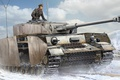 Картинка средний танк бронетанковых войск вермахта, Panzerkampfwagen IV, рисунок, Pz.Kpfw IV Ausf J