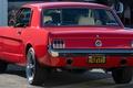 Картинка классика, Ретро, 1965, Mustang V8