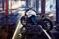 Картинка бмв, BMW, мотоцикл, Concept, концепт, Roadster