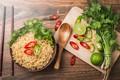 Картинка петрушка, bowl, chili, чили, лапша, asian, Thailand, лайм