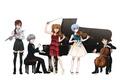 Картинка game, anime, Neon Genesis Evangelion, flute, piano, cello, japanese, violin