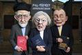Картинка политика, выборы, шарж, Тереза Мэй, Джереми Корбин, Премьер-министр Великобритании, Тим Фаррон, Theresa May, Jeremy Corbyn, ...