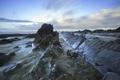 Картинка море, рассвет, Англия, England, South Devon, Welcombe Mouth Bay