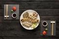 Картинка суши, sushi, роллы, соус, вассаби, имбирь, set, japanese food, палочки