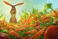 Картинка радость, кролик, морковь, изумление, Watership down carrots