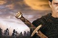 Картинка chain mail, torches, blade, man, cinema, film, viking, horse, Ahmed Ibn Fahdlan, The 13th Warrior, ...