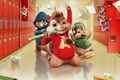 Картинка cinema, school, movie, singer, film, animated film, animated movie, Alvin and the Chipmunks
