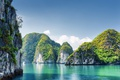 Картинка Вьетнам, Бухта, Природа, Море, Утес, Halong Bay, Скала