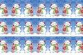 Картинка поцелуй, Новый год, настроение, детская, зима, арт, снег, праздник, снеговик, девочка