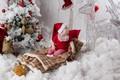 Картинка дед мороз, новый год, праздник, гном, малыш