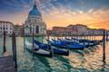 Картинка лодки, Италия, Венеция, собор, гондола, Санта-Мария-делла-Салюте, Гранд Канал
