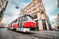 Картинка Czech Republic, город, Чехия, здание, трамвай, улица