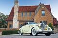 Картинка авто, coupe, Packard, дом, Roadster, ретро