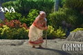 Картинка cinema, film, animated film, flower, hana, woman, movie, animated movie, Moana, island, gramma Tala, vegetation