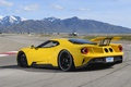 Картинка car, Ford, Ford GT, yellow, montain
