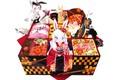 Картинка коробка, кимоно, голубые глаза, ушки, обед, закуски, бенто, ben-to, rabbit girl