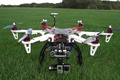 Картинка dji flamewheel, high technology, drone, quadcopter, technology, high tec, vegetation