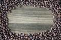 Картинка деревянный фон, текстура, кофе, зерна